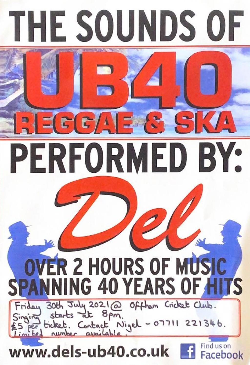 UB40 REGGAE & SKA, Performed by Del